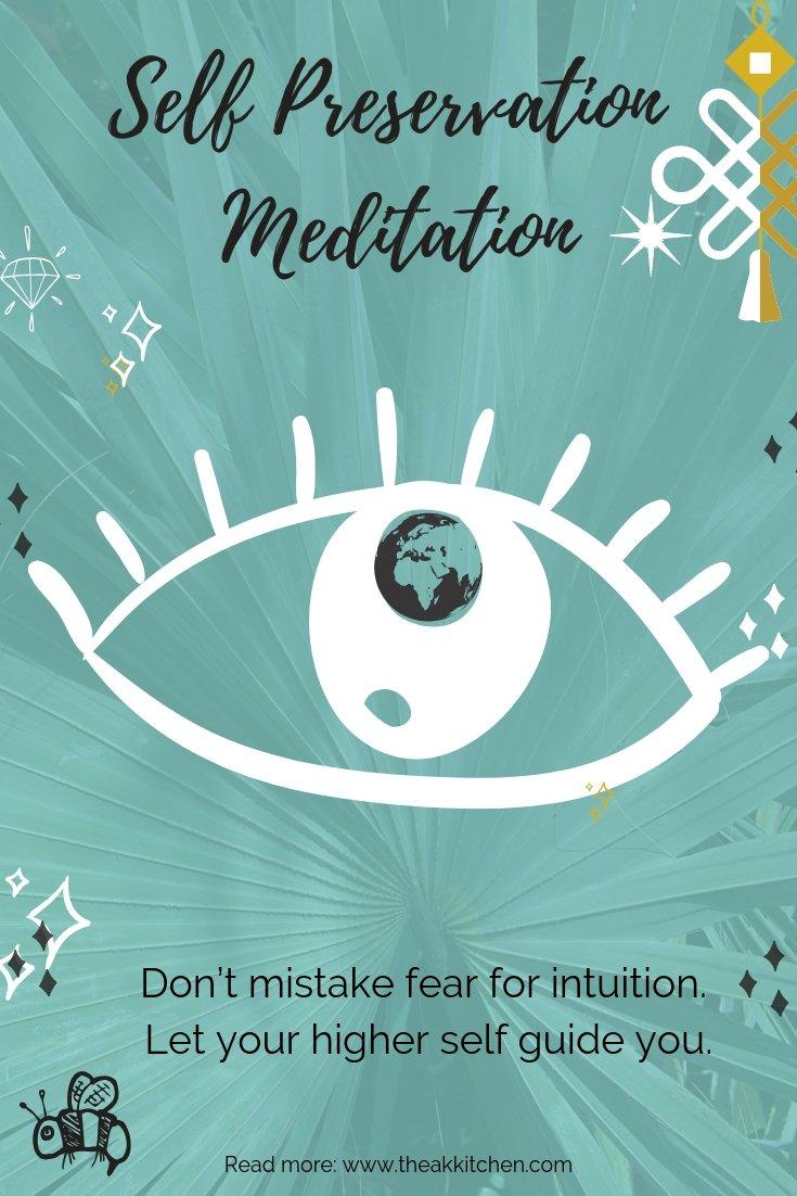 Manifestation & Self Preservation Mindfulness Meditation