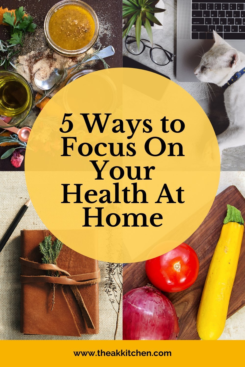 5 Ways to Focus On Your Health At Home